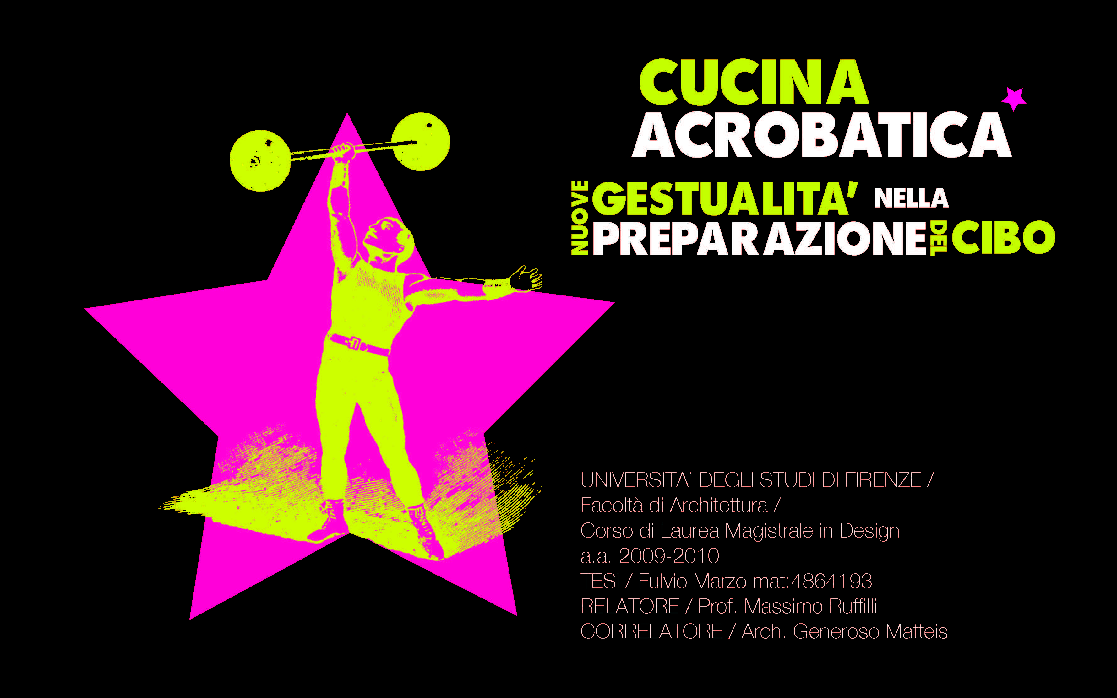 Cucina Acrobatica Almadesign Creative Studio